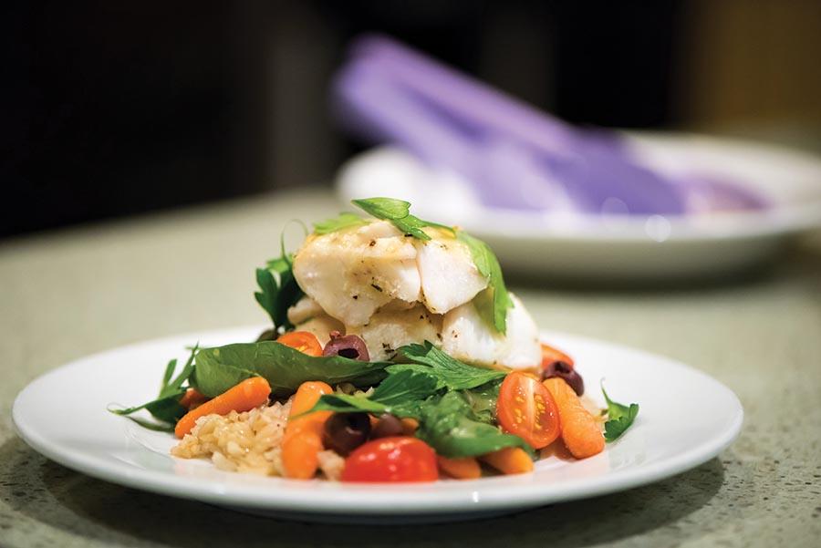Salad at Campus Dining